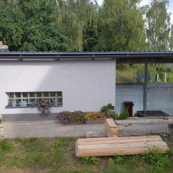 Kompletní rekonstrukce zahradní chatky