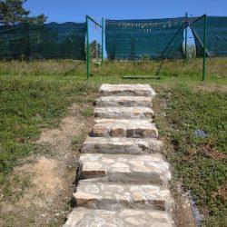 Kamenné schodiště